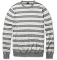 J.Crew - Striped Cotton and Cashmere-Blend Sweater
