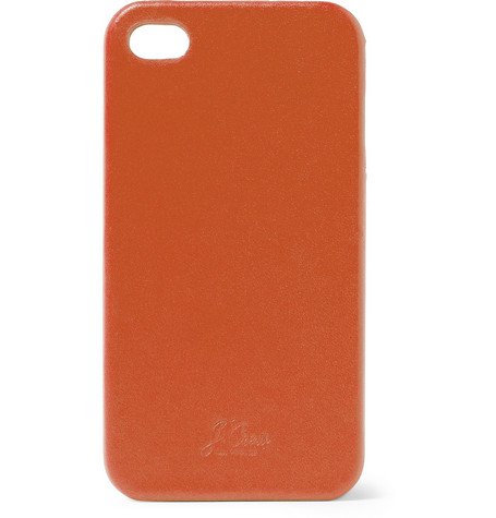 J.Crew Leather iPhone 4 Case