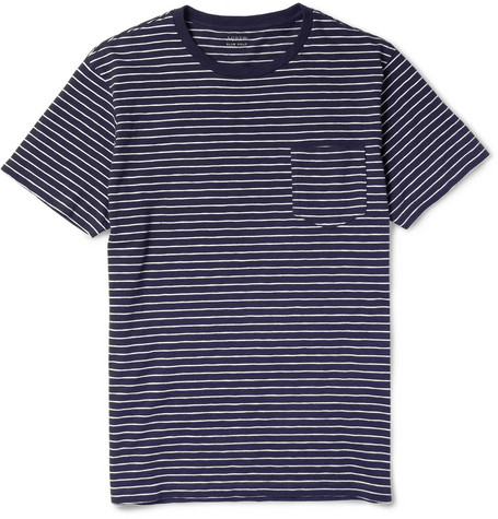 J.Crew Striped Cotton T-Shirt