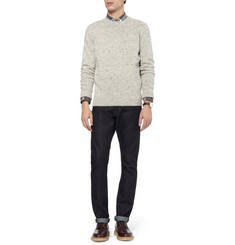 J.Crew Wool-Blend Crew Neck Sweater