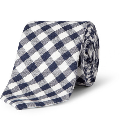 J.Crew Gingham Check Cotton Tie