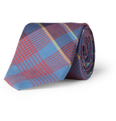 J.Crew Plaid Cotton Tie