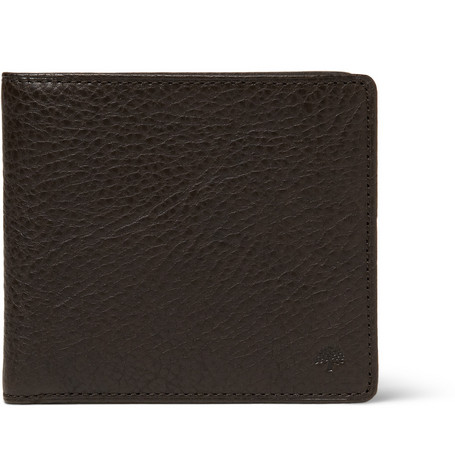 Mulberry Leather Billfold and Coin Wallet