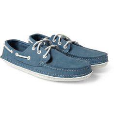 Quoddy Suede Boat Shoes