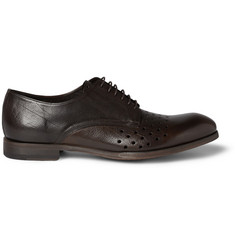 Paul Smith Shoes & Accessories Seagal Perforated Leather Derby Shoes