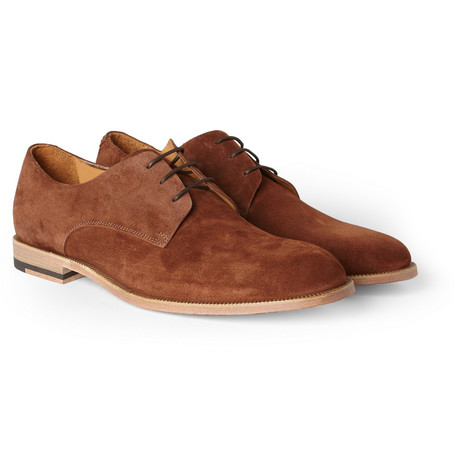 Paul Smith Shoes & Accessories Walterlight Suede Derby Shoes