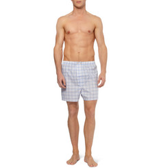 Derek Rose Amalfi Plaid Cotton Boxer Shorts