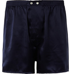 Derek Rose Charlie Silk-Satin Boxer Shorts