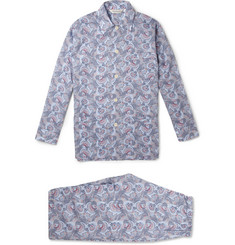 Derek Rose Nelson Printed Cotton Pyjamas