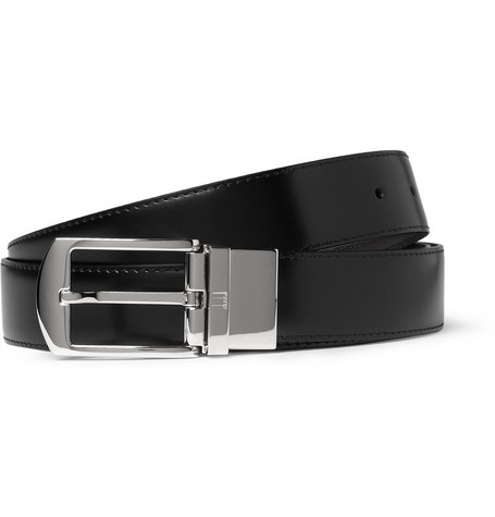 Alfred Dunhill Cut-to-Fit Reversible Leather Belt