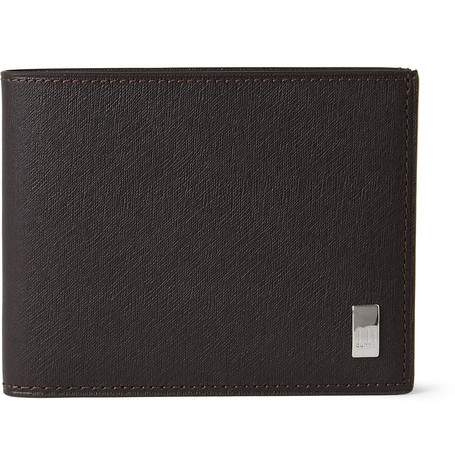 Alfred Dunhill Side Car Textured-Leather Billfold Wallet