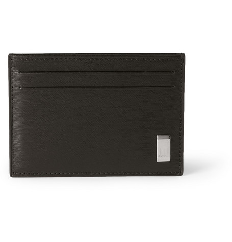 Dunhill Side Car Textured-Leather Cardholder