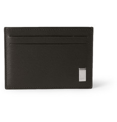Alfred Dunhill Side Car Textured-Leather Card Holder