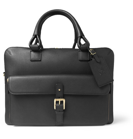 Alfred Dunhill Bladon Leather Holdall Bag
