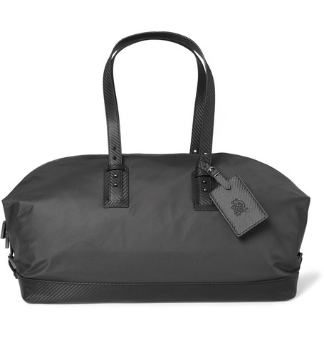 Alfred Dunhill Lightweight Leather-Trimmed Holdall Bag