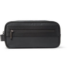 Dunhill Chassis Leather-Trimmed Wash Bag