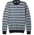 Alfred Dunhill Striped Cotton Sweater