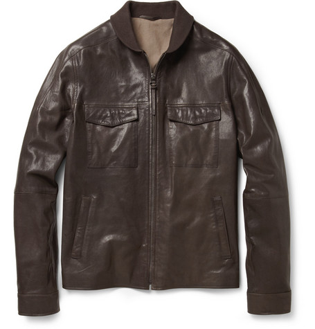 Alfred Dunhill Washed-Leather Jacket
