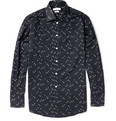 Richard James Patterned Cotton Shirt
