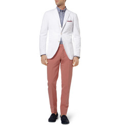 Michael Bastian Cotton and Linen-Blend Blazer
