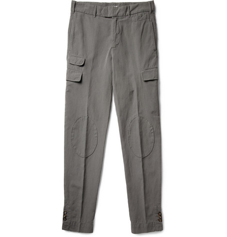 Michael Bastian Cotton and Linen-Blend Trousers