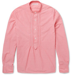 Michael Bastian Cotton and Linen-Blend Shirt