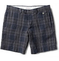 Michael Bastian - Slim-Fit Plaid Linen Shorts