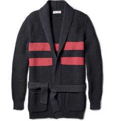 Michael Bastian Chunky-Knit Cotton Cardigan