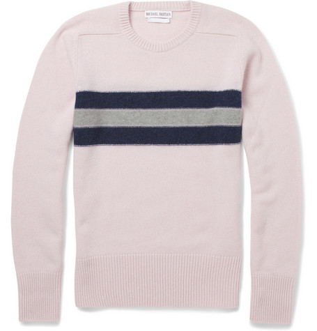 Michael Bastian Cashmere Crew Neck Sweater