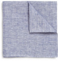 Michael Bastian Linen Chambray Pocket Square