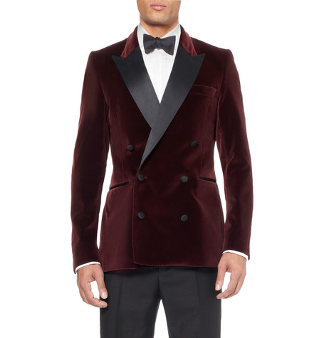 AcneGrant Slim-Fit Velvet Tuxedo Jacket