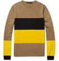 Marc by Marc Jacobs Freddie Panelled Merino Wool Sweater