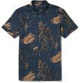 Marc by Marc Jacobs - Printed Short-Sleeved Cotton Shirt