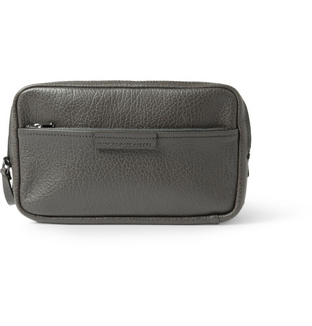 Marc by Marc Jacobs Dopp Kitt Textured-Leather Wash Bag