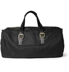Marc by Marc Jacobs Leather-Trimmed Canvas Holdall Bag