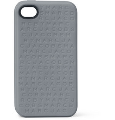 Marc by Marc Jacobs Designer-Embossed Silicone iPhone 4 Case