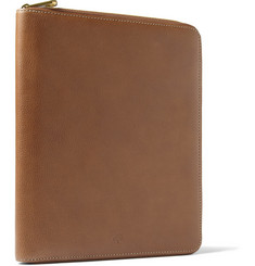 Mulberry - Textured-Leather iPad Case