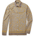 Burberry Prorsum - Slim-Fit Printed Cotton Shirt