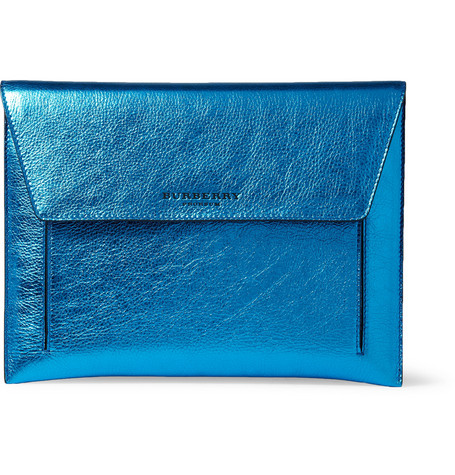 Burberry Prorsum Metallic Leather iPad Case