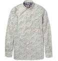 Junya Watanabe - Round-Collar Printed Cotton Shirt