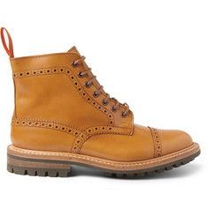 Junya Watanabe Tricker's Leather Brogue Boots