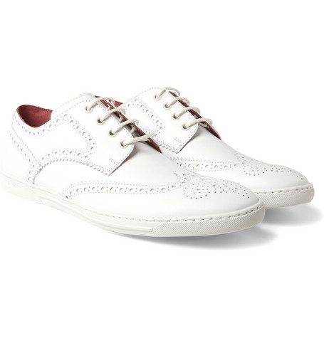 Junya Watanabe Tricker's Leather Brogue Sneakers