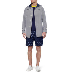 Junya Watanabe Gingham Check Bonded-Cotton Jacket