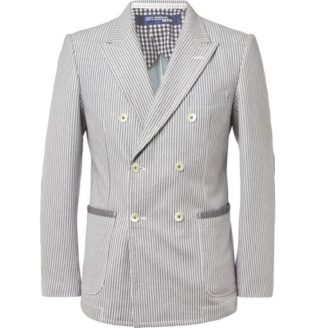 Junya Watanabe Slim-Fit Cotton-Blend Blazer