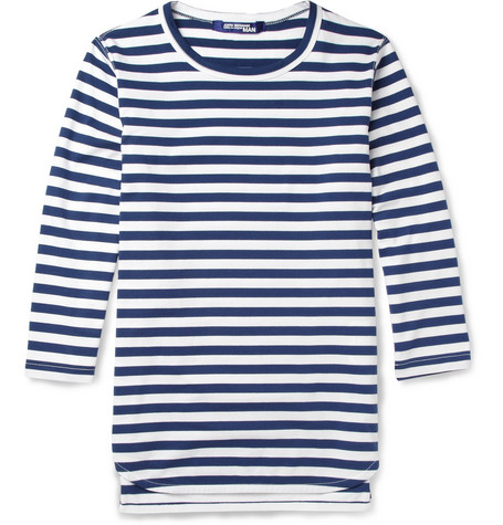 Junya Watanabe Striped Cotton-Jersey T-Shirt