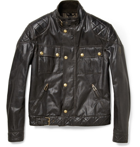 Belstaff S Icon Blouson Waxed-Cotton Jacket
