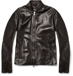 Belstaff Denby Slim-Fit Leather Biker Jacket