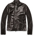 Belstaff - Denby Slim-Fit Leather Biker Jacket