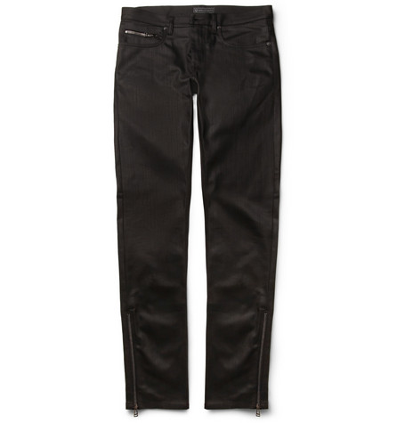 Belstaff Sherwood Slim-Fit Denim Biker Jeans