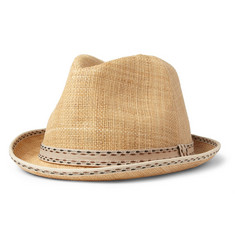 Paul Smith Shoes & Accessories Christy's Straw Trilby Hat